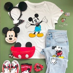 Levi's x Mickey Mouse tee